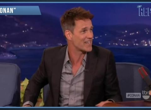 News video: 'Conan': 'True Blood' Star Stephen Moyer Talks Racy Rolling Stones Cover