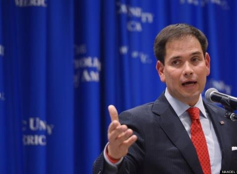News video: Rubio Is Sick Of Being Called A Hater For Opposing Gay Marriage