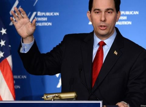 News video: Scott Walker Received Money From Companies That Outsource Jobs