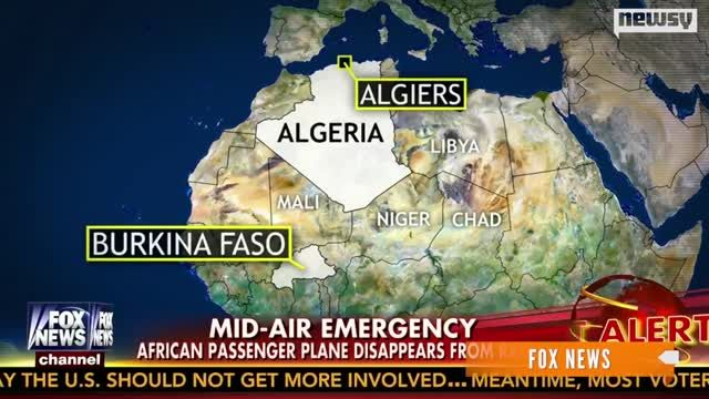 News video: Air Algeria Loses Contact With Flight, 116 On Board
