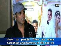 News video: Entertainment is a necessity of life: Akshay Kumar