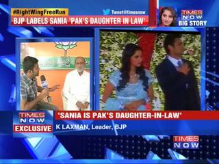 News video: Sania shouldn't be ambassador: K Laxman