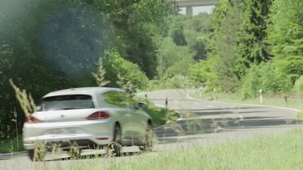 News video: Volkswagen Scirocco - Driving event